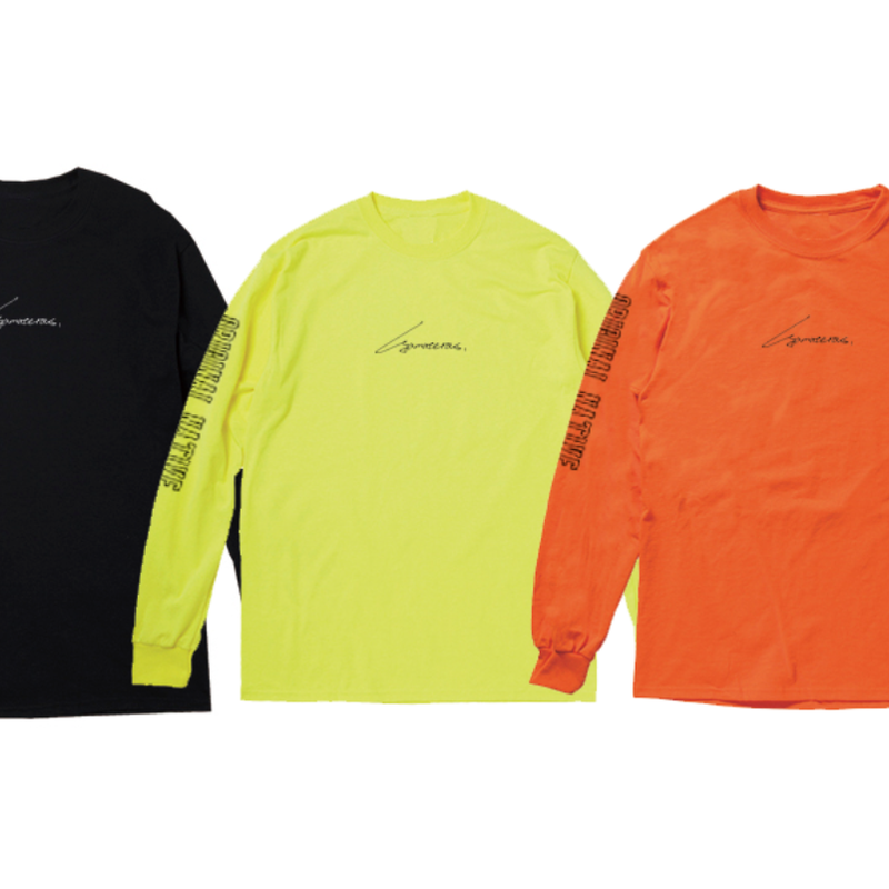 "YAMATERAS ""Original Native"" Long Sleeve T-Shirts"