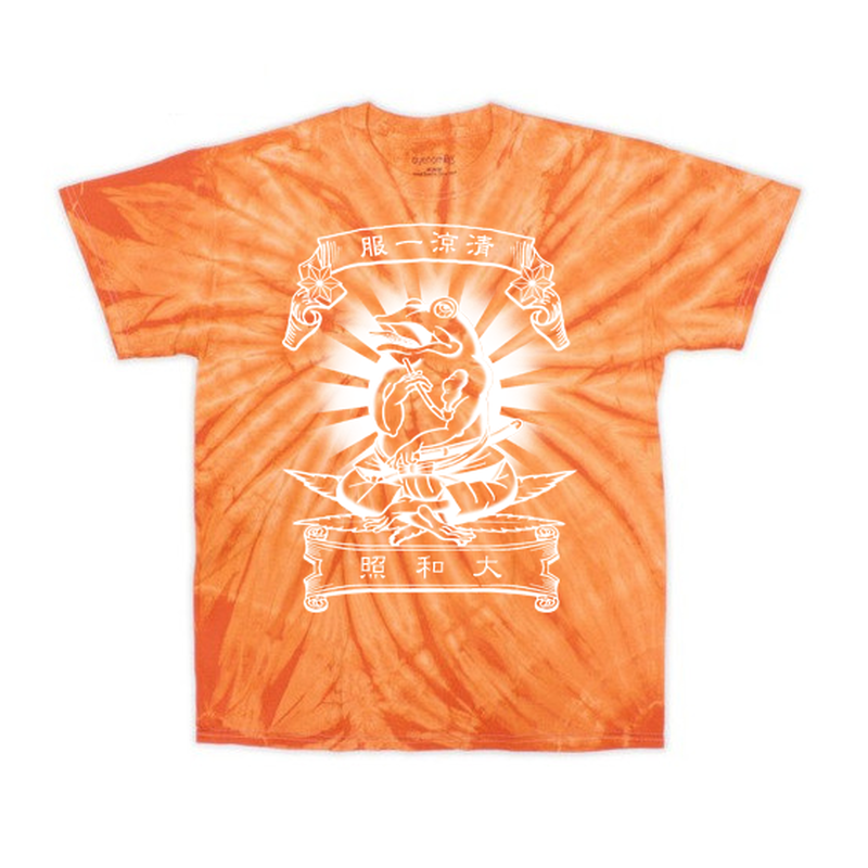 [煙蛙] tiedye -T  ORANGE