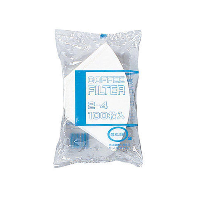 ★bonmac コーヒーフィルター NB酸素漂白2人用NB-200S 2~4杯用