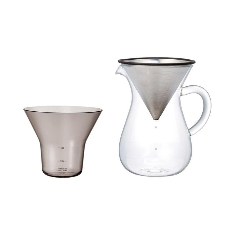 KINTO SLOW COFFEE STYLEコーヒーカラフェセット ステンレス 600ml