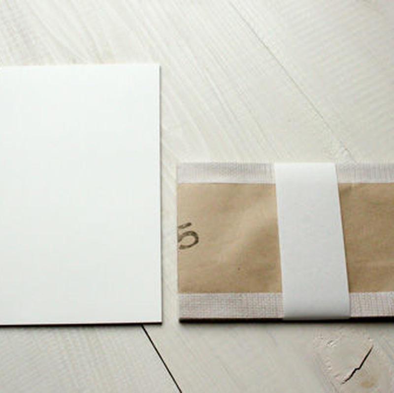 味紙リサイクル封筒とすかし紙のレターセット