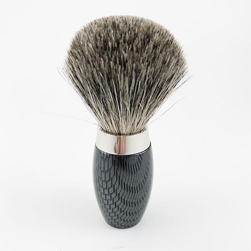 CARBONE(BLACK)  SILVER TIP BRUSH B205