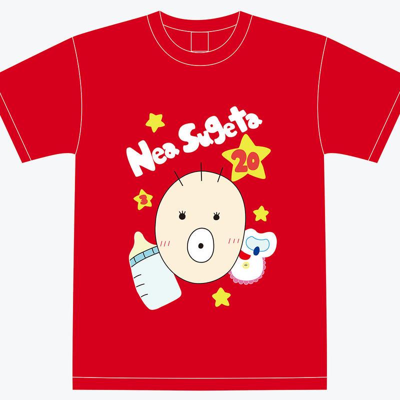 『菅田音杏』生誕祭Tシャツ(スリジエ・宙組メンバー用6名分)