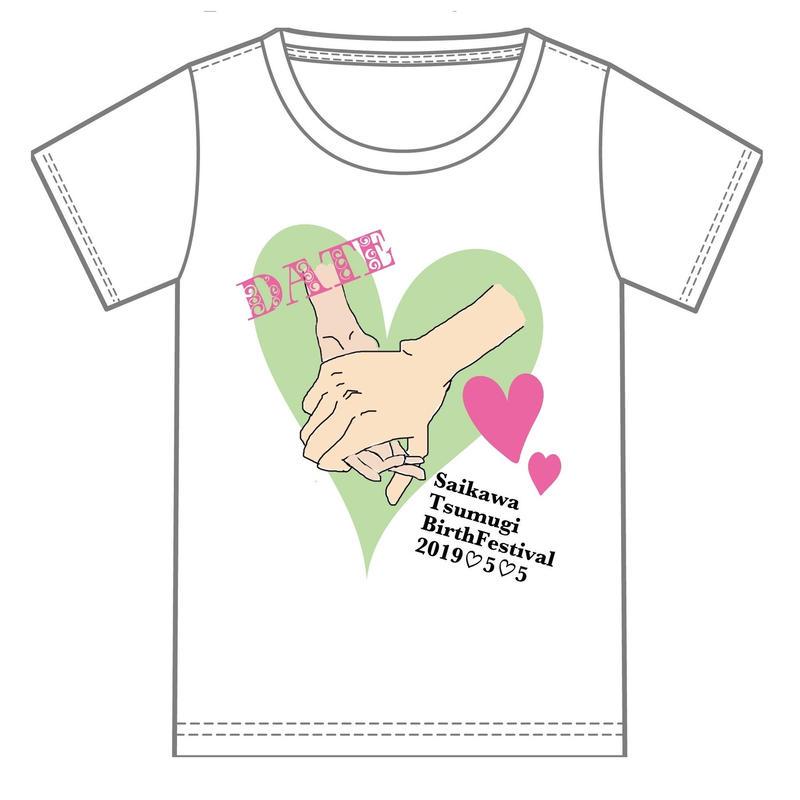 『才川つむぎ』生誕祭Tシャツ(スリジエ・虹組メンバー用7名分)
