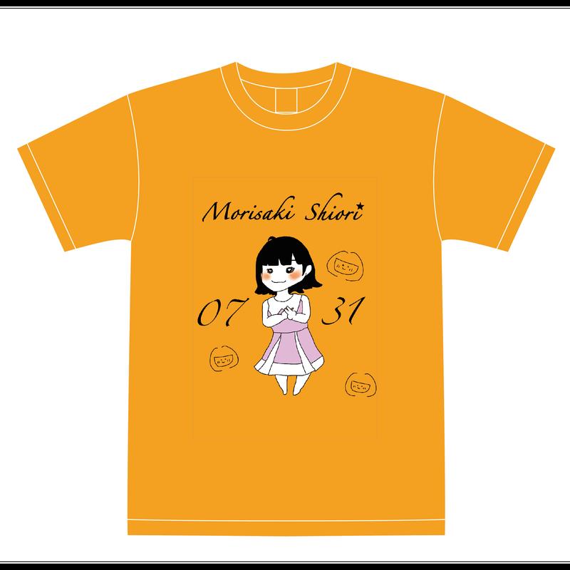 『森崎志桜里』生誕祭Tシャツ(スリジエ・風組メンバー用6名分)
