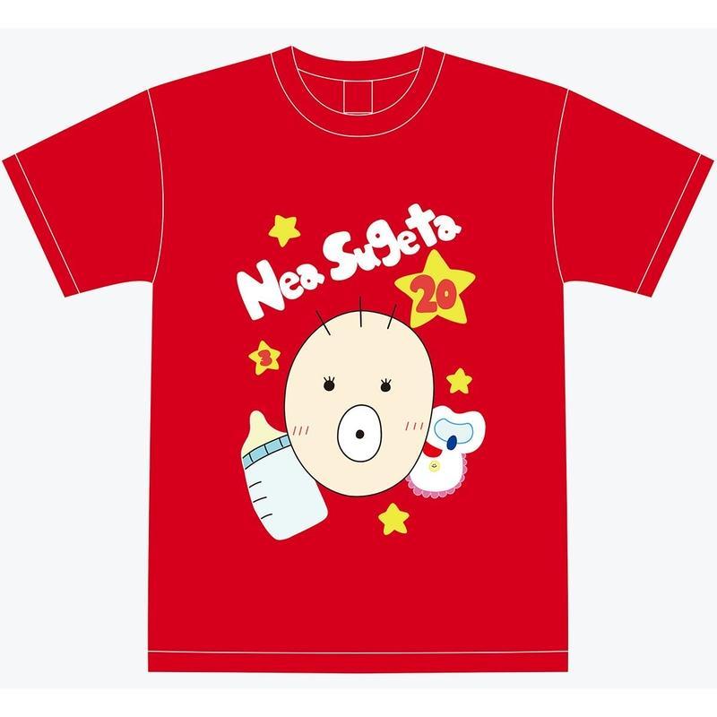 『菅田音杏』生誕祭Tシャツ(スリジエ候補生メンバー用13名分)