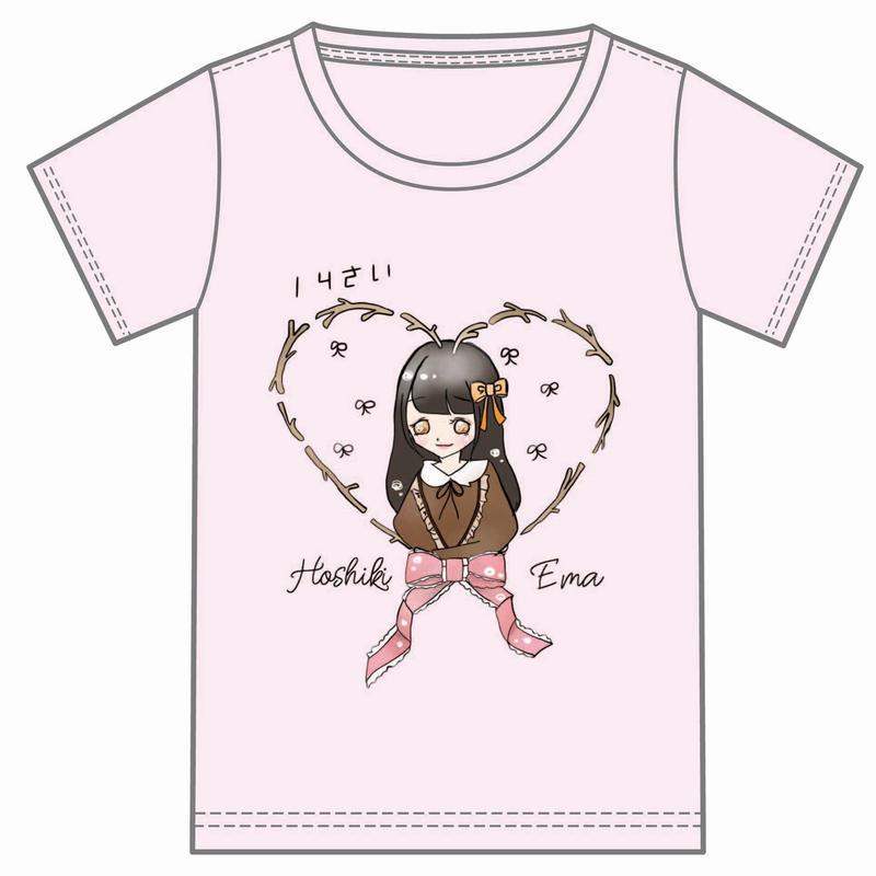 『星木エマ』生誕祭Tシャツ(スリジエ・星組メンバー用7名分)