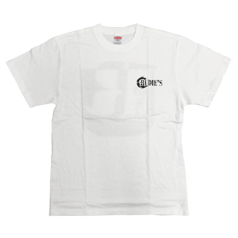 RUDIE'S ハイクオリティTシャツ(ホワイト)
