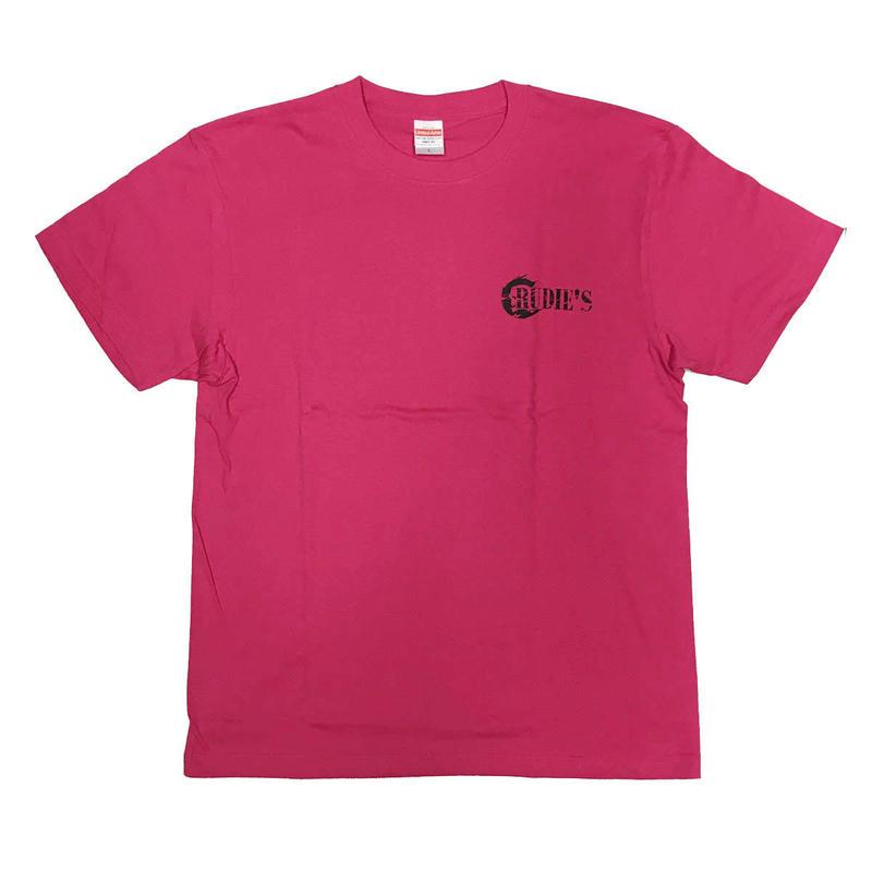 RUDIE'S ハイクオリティTシャツ(パッションピンク)