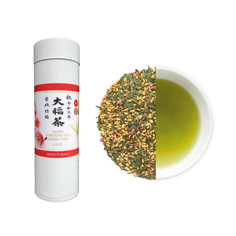 令和元年祝茶 大福茶(煎茶)(缶)