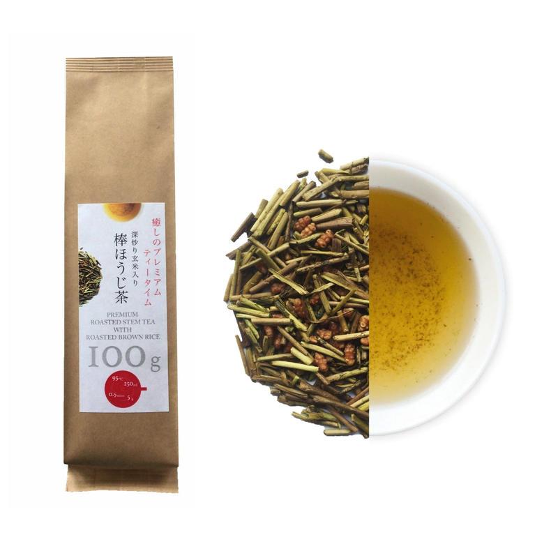 深炒り玄米入り棒ほうじ茶(袋)