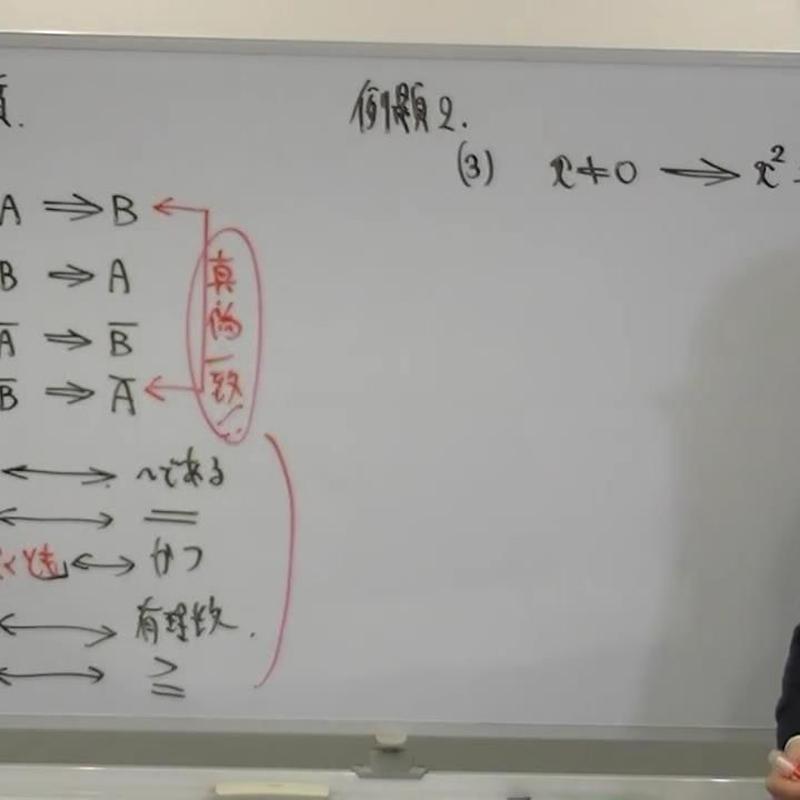 (数学授業本編) 第16講:命題