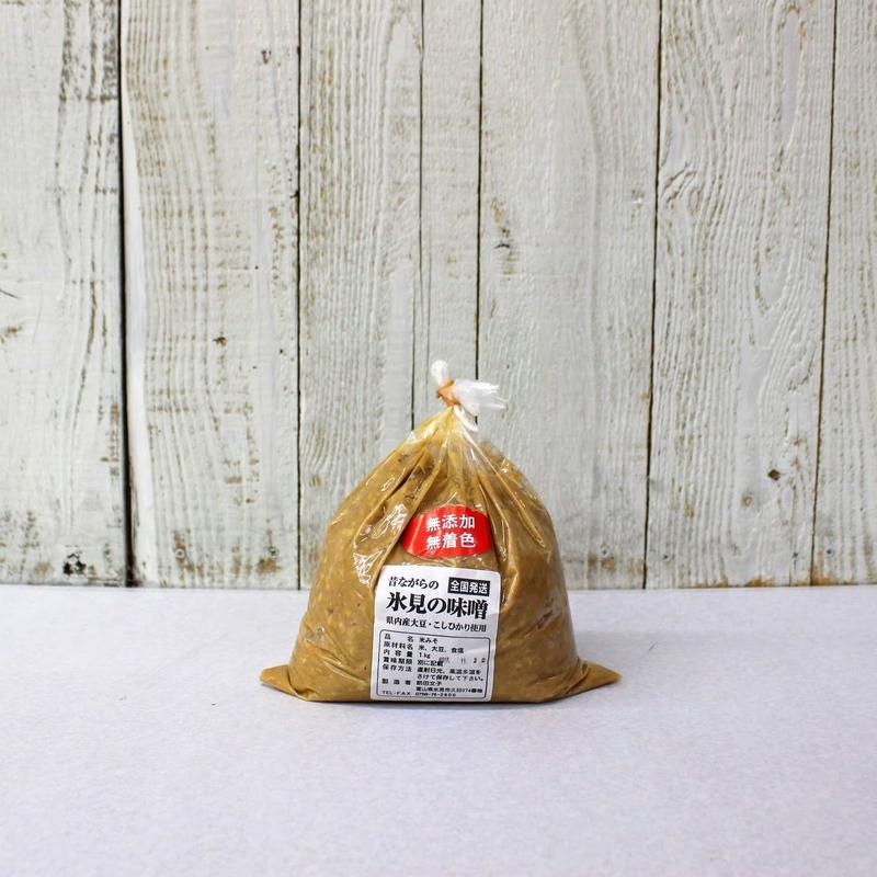 氷見「前田さんの昔ながらの氷見の味噌」1kg