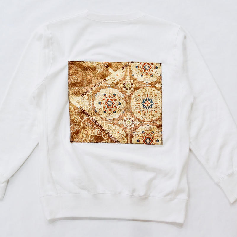 「琥珀 Kohaku」crew neck sweat