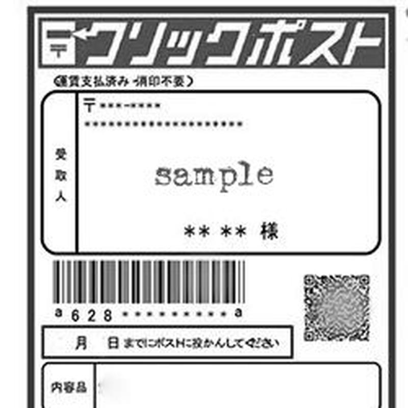 ピアス・コイン・ワッペン・ヘアゴム限定 配送サービス利用(配送料)