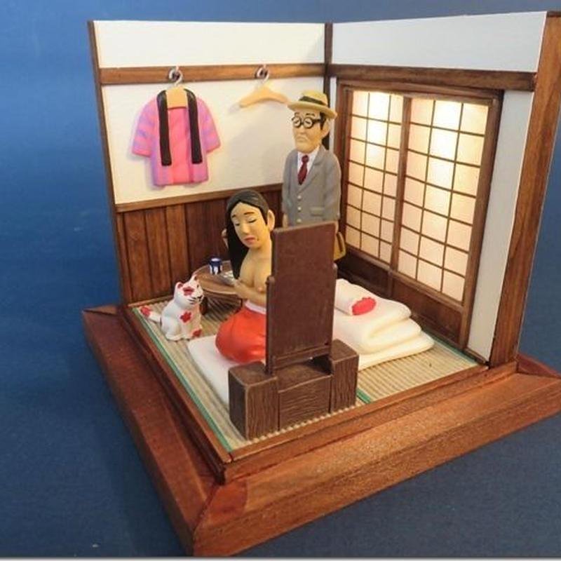 ジオラマ昭和色模様『墨東の色町 鏡台の女』〈完全受注生産〉