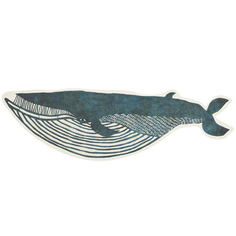 型抜きポストカード:ナガスクジラ