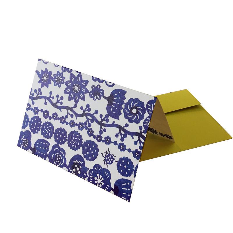 グリーティングカード: 花飾り