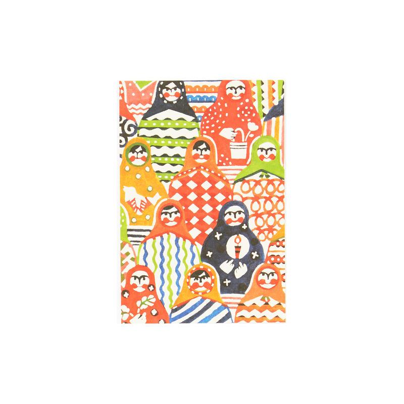 ポストカード:マトリョーシカ