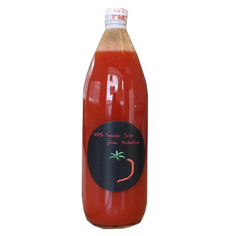できた!!28年収穫のトマトジュース 素材美味しさ味わって!戸丸卓英 1000ml