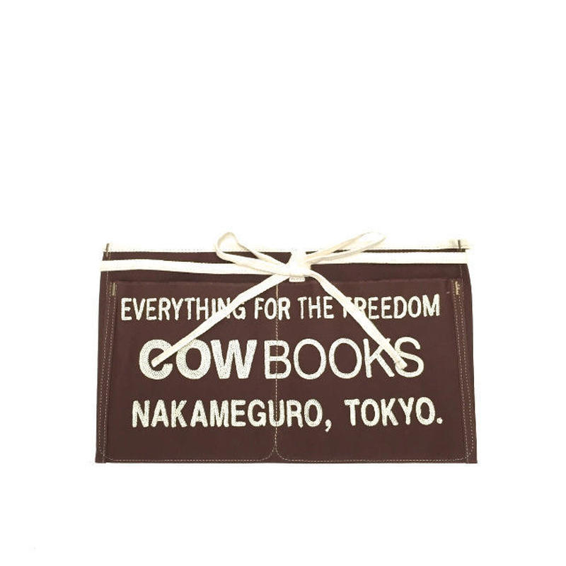 "COW BOOKS(カウブックス)""Book Vender Apron Mini (Brown) / ブックベンダーエプロン"""