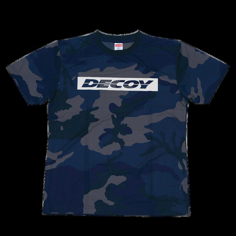 DECOY DRY-カモTEE 【DA-104】<ブルーカモ>