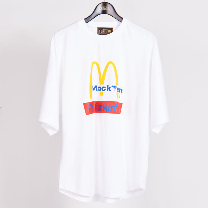 MACK TEN TEE SHIRTS(WHITE)