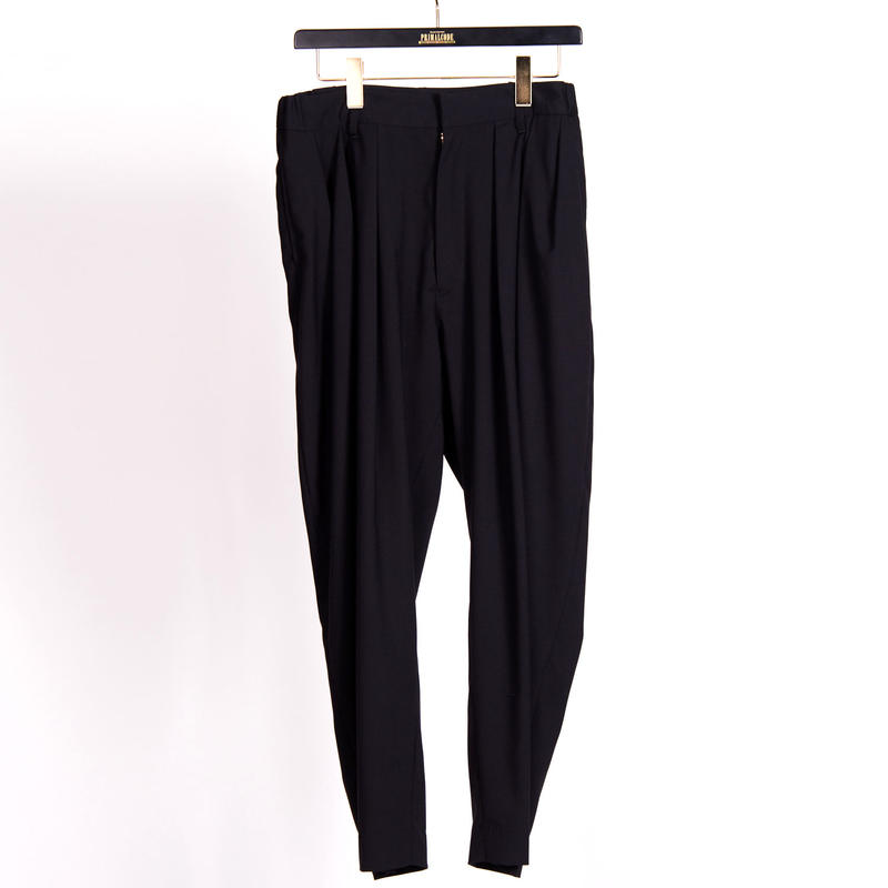 TUCK PANTS(BLACK)