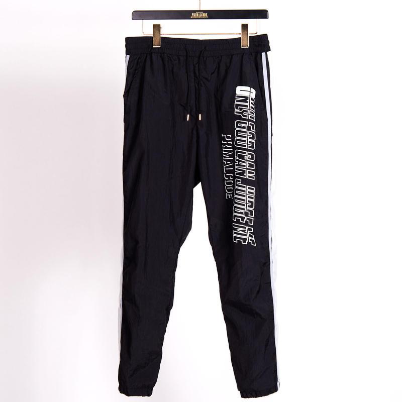 TRACK PANTS(BLACK)