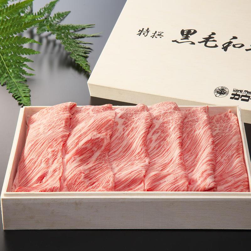 長崎和牛カタロースすき焼き(400g入)