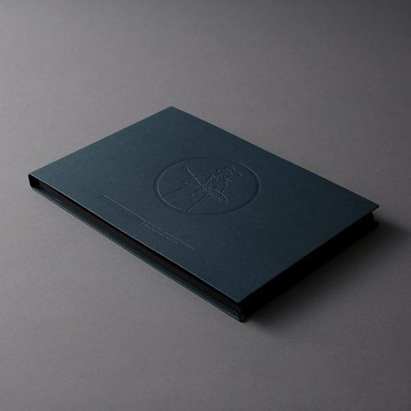 LIBERTY BOOK black paper