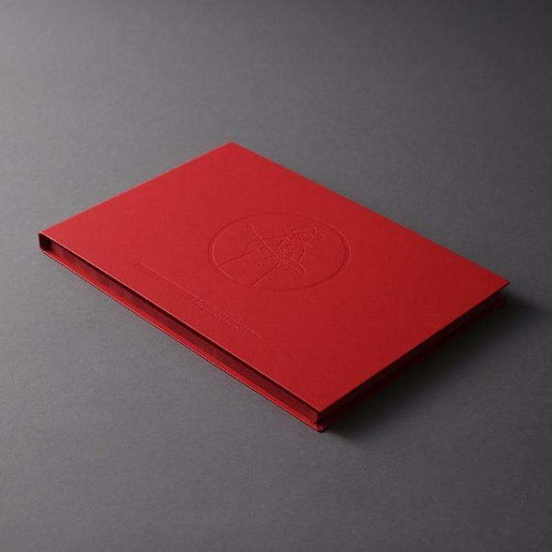 LIBERTY BOOK red paper