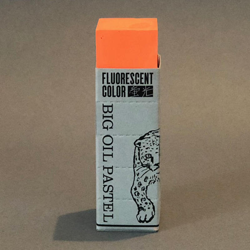 BIG OIL PASTEL Fluorescent orange