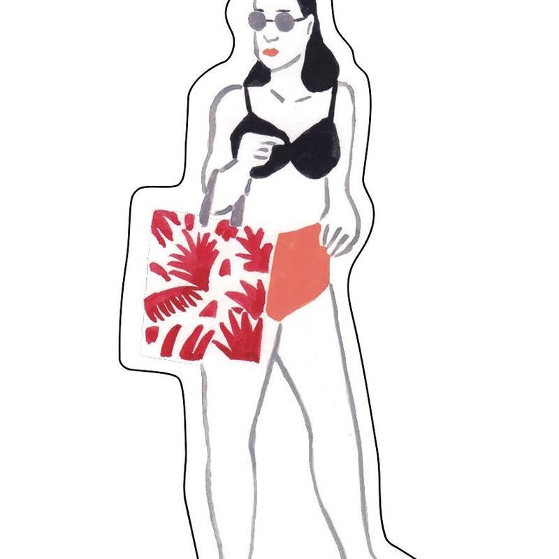 キーホルダー EARLY SUMMER GIRL