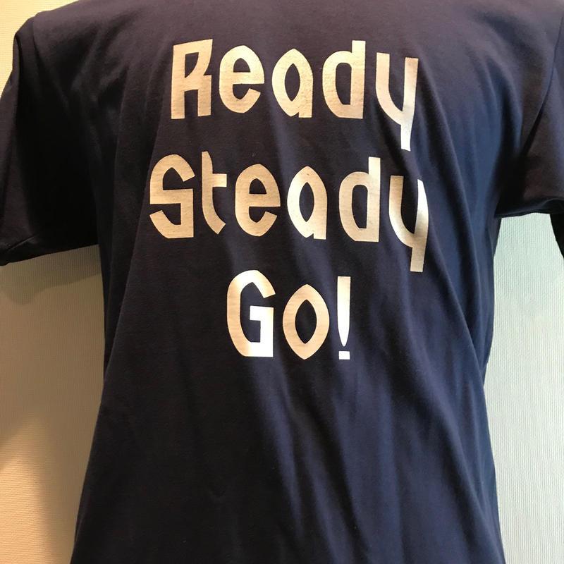 LT004-2  ロゴTシャツ NAVY/GRAY グラデーション