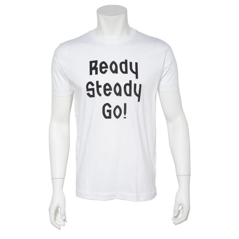 LT001 ロゴTシャツ WHITE/BLACK