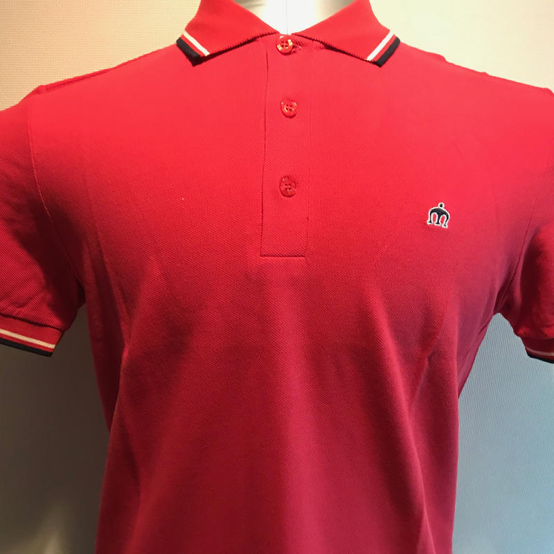 OL001  MERC CLASSIC POLO RED from UK