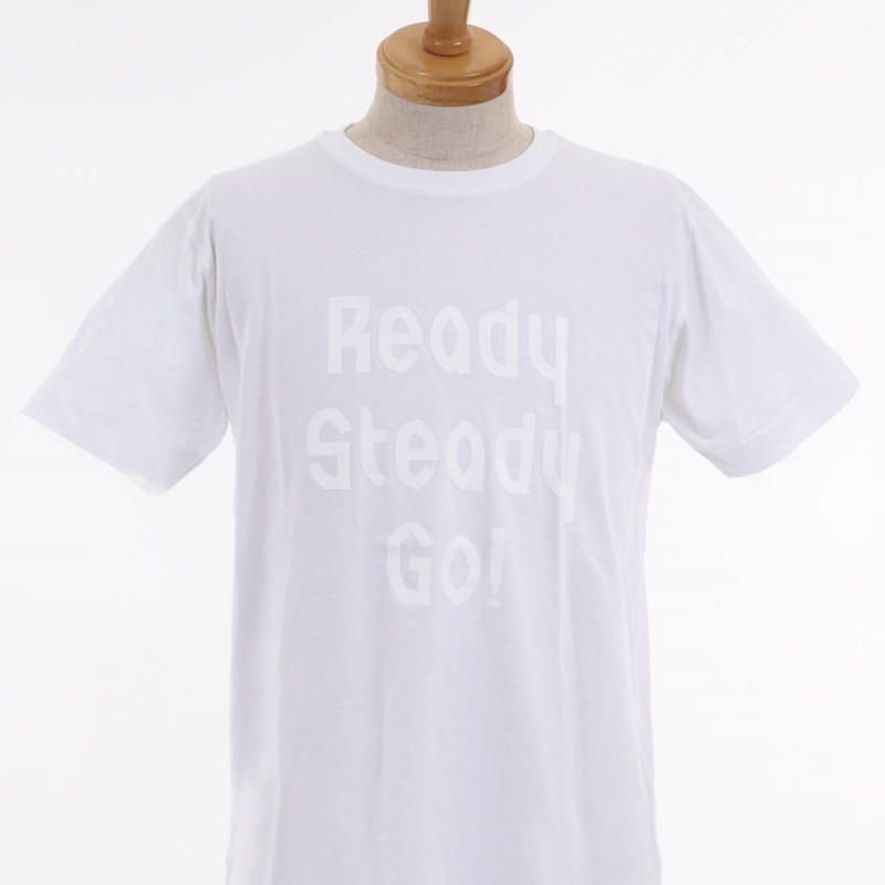 LT001-3 ロゴTシャツ WHITE/WHITE from UK