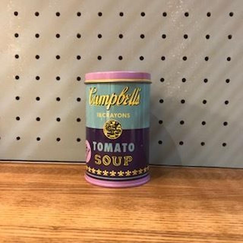 アンディーウォホール缶 クレヨン