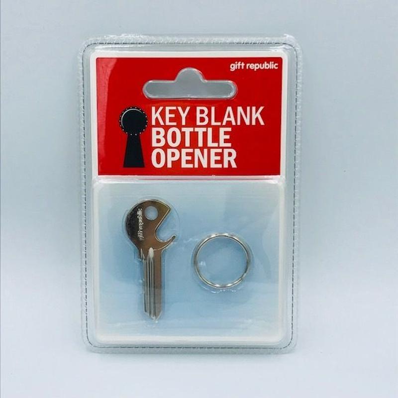 Key Blank Bottle Opener キーブランクボトルオープナー