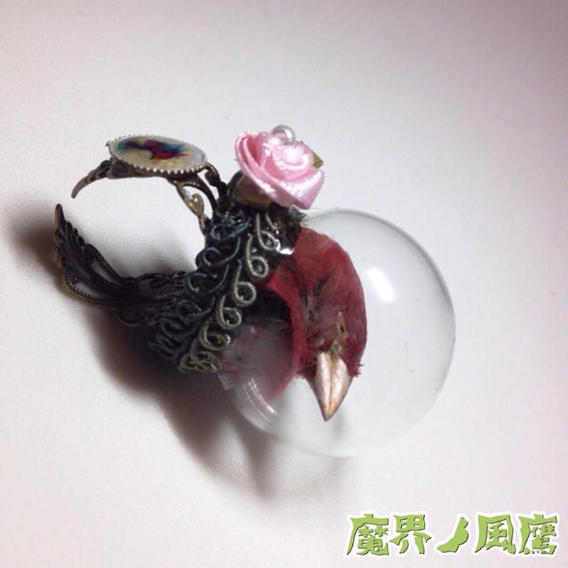 フィンチのリング(赤)