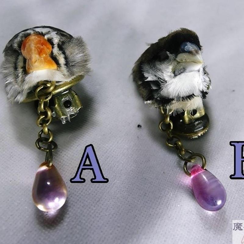 小鳥のイヤリング