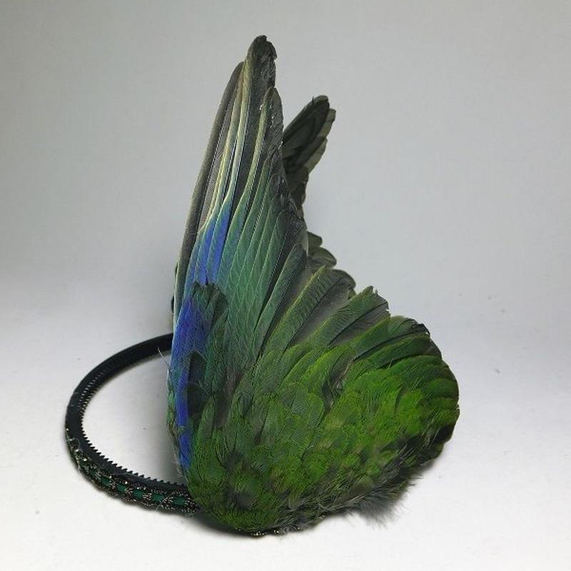 インコの翼カチューシャ