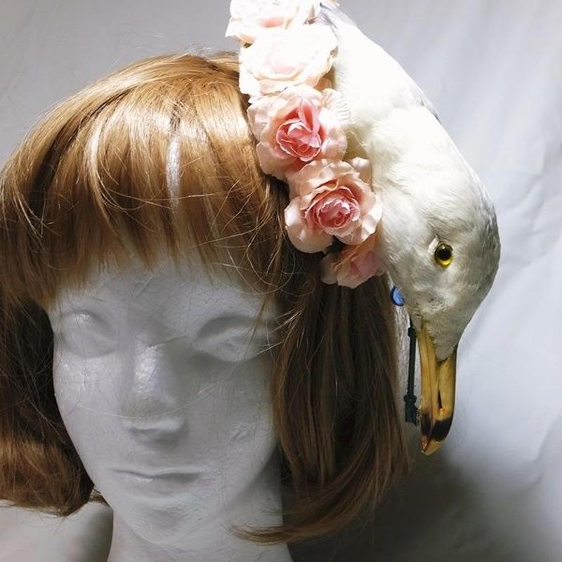 ウミドリのヘッドドレス