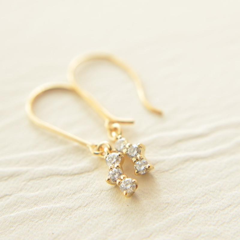 diamond pierce(K18YG)