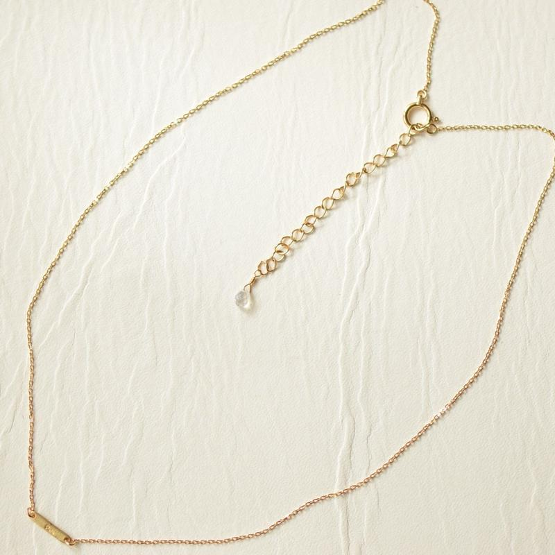 negai Necklace (SNN-006 K18YG)