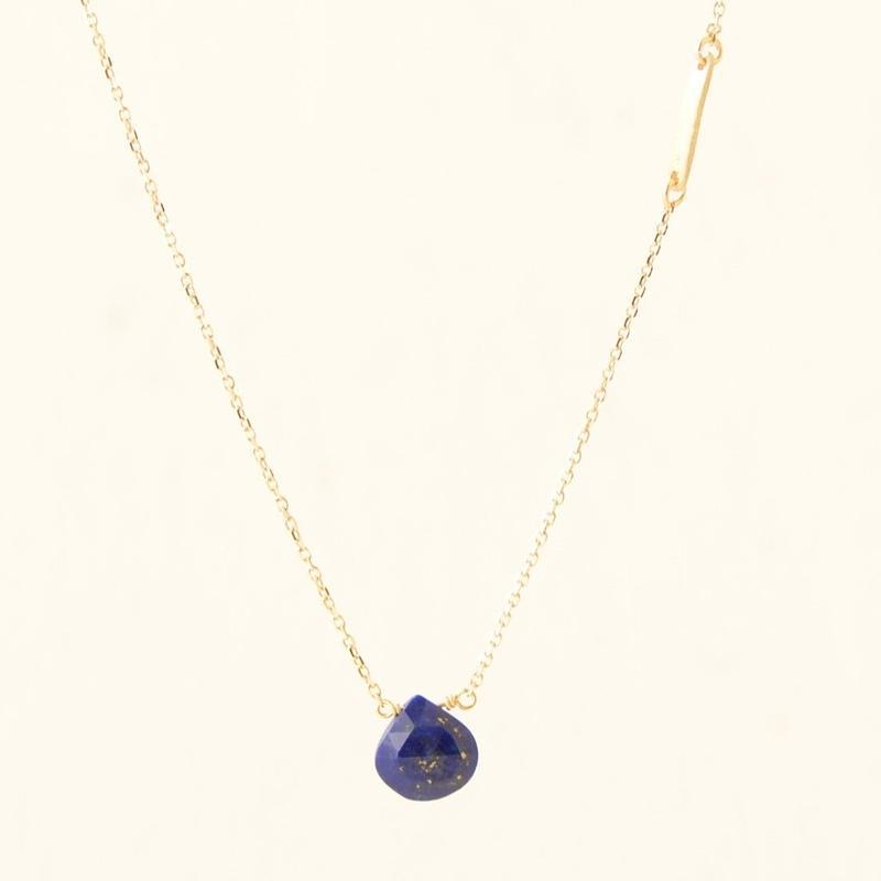 Lipis Lazuli Necklace (SNN-052LA)