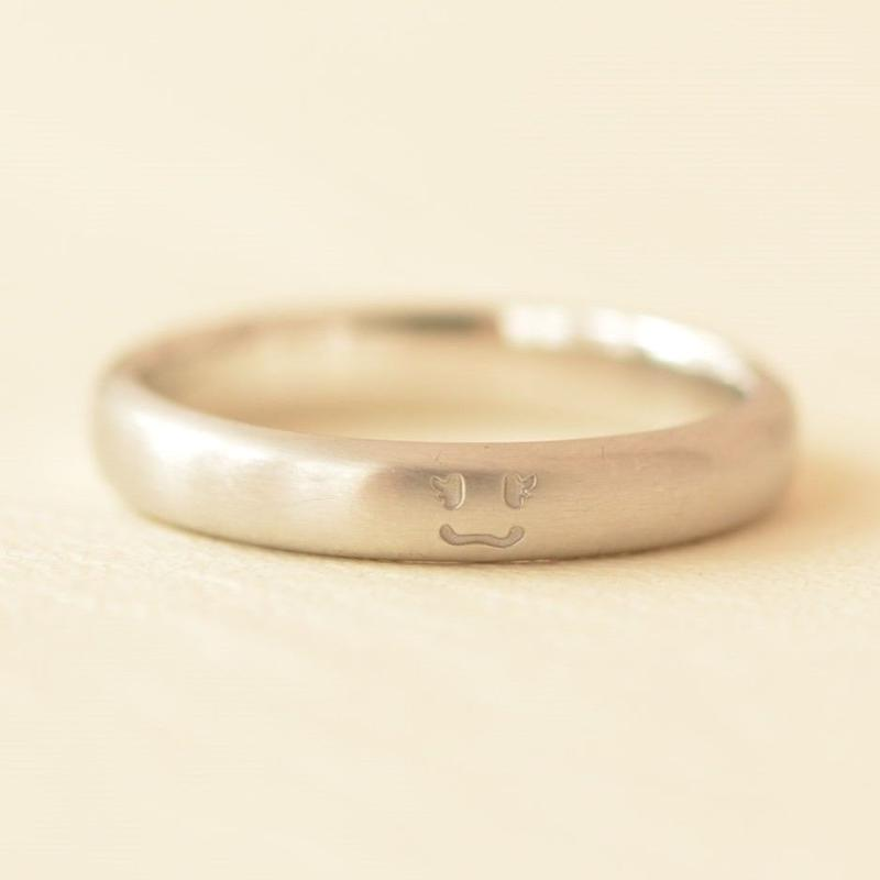 Order Made Marriage Ring (NS-010A-PT900)