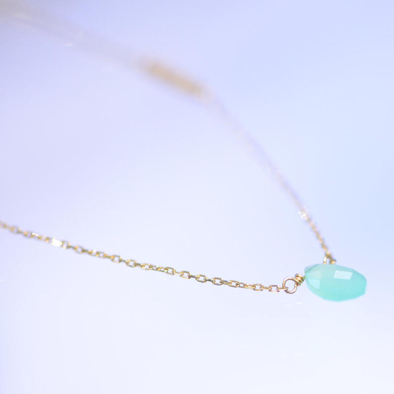 chrysoprase necklace (SNN-037Chryso)