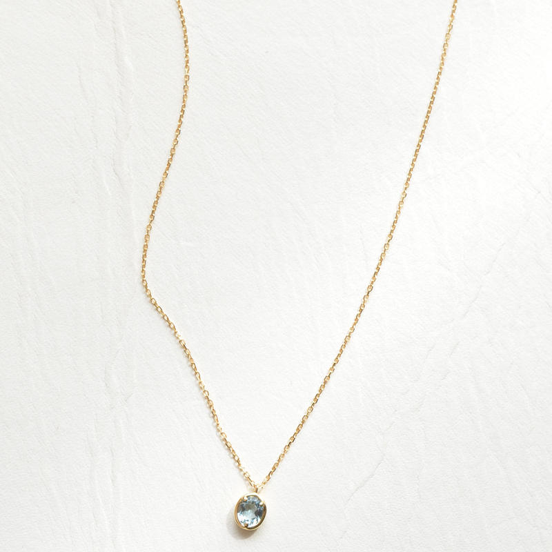 Aquamarine Necklace (SNN-073AQ)